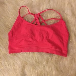 Fabletics Hot Pink Sports Bra